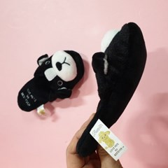[PetToy]Love Pet Squeaky Boston Terrier slipper바스락삑삑