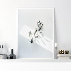 선샤인리프 식물 액자 나뭇잎 그림
