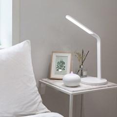 아이버드 모던화이트 무선 충전 플렉시블 LED 스탠드 IB-S3000