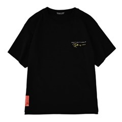 콜마이네임 티셔츠 BLACK