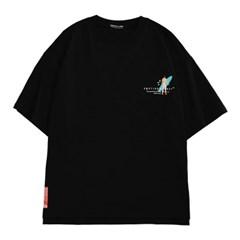 팜트리 서퍼 티셔츠 BLACK