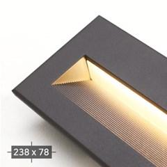 LED 250 외부 계단매입 8W