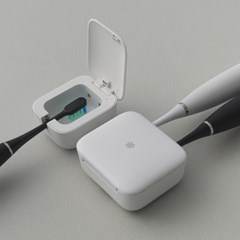 식스비 1인용 2인용 무선 칫솔살균기 led 휴대용
