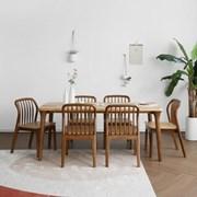 [마들렌] A1형 6인용식탁/테이블 세트_(1492713)
