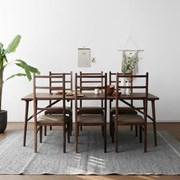 [헤리티지월넛] V1형 식탁/테이블 세트_(1492698)