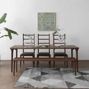 [헤리티지월넛] I3형 식탁/테이블 세트_(1492695)