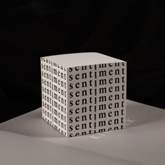 떡메모지 / sentiment memo cube