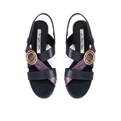 Luna sandal - violet