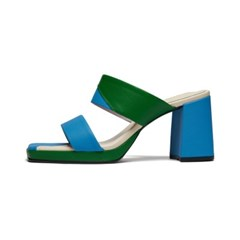 Candy Prism mule - mix green