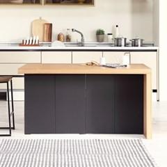 [데코마인] 엔슬리 아일랜드 식탁 1400 C형 홈바테이블