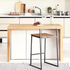 [데코마인] 엔슬리 아일랜드 식탁 1200 D형 홈바테이블