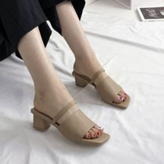 kami et muse 4cm middle heel strap slippers_KM20s029