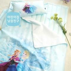 [단품-베개커버] 디즈니 겨울왕국 여름낮잠이불 -엘사와 안나의 모험