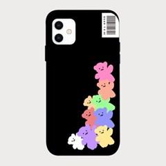 [하드/터프/슬라이드]Pastel Bear_Black