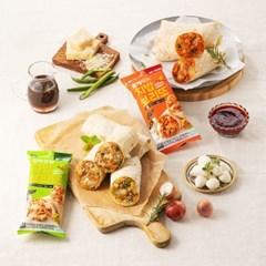 치밥/브리또/소맛닭/만두 외 20종 골라담기