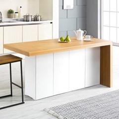 [데코마인] 엔슬리 아일랜드 식탁 1600 A형 홈바테이블