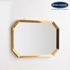 잉글랜더 맨해튼 팔각 골드프레임 거울 900