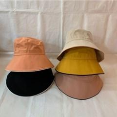 연예인 동백이 왕대두 기본 배색 벙거지 버킷햇 모자