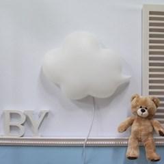 [LAMPDA]LED형 구름모양 벽등(화이트)