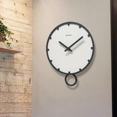 원형 추 무소음 심플벽시계