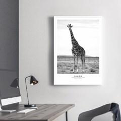 기린 동물 포스터 인테리어 그림 포스터