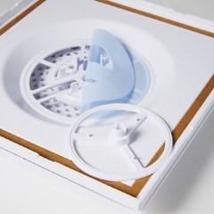 역류방지댐퍼 욕실 담배냄새 차단 화장실 환풍기