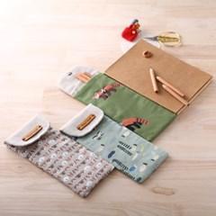퀼트패키지 필통만들기 섬진강백련어 디자인선택