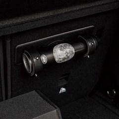[특별할인] 리틀히어로 디자인 소화기+차량용 가죽 거치대