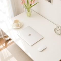 밀키 라운드 1000 좌식책상 컴퓨터 테이블 노트북 낮은책상