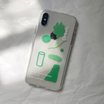 PHONE CASE. GREEN