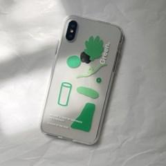 PHONE CASE. GREEN