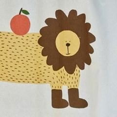 일상그림 패브릭 포스터 '사자 치타 표범'