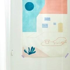 일상그림 패브릭 포스터 'Untitled'