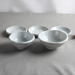 유백 혼밥세트 A 도자기 그릇세트
