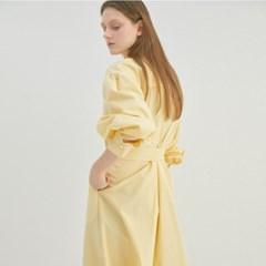 DANDELION COTTON SHIRTS DRESS (2COLORS)