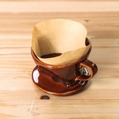 도모 커피여과지 D형 대(싱가폴산)100매/커피필터_(3111995)