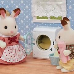 [실바니안공식]5445-세탁기와 청소기 세트