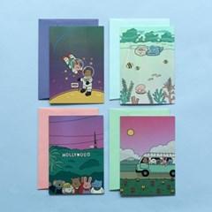 홀로그램 카드 (마이 버디) 01-04