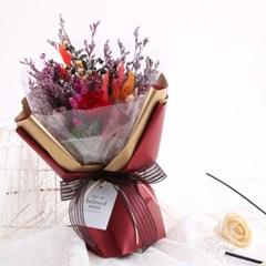에이동천사호 로맨틱 레드 프리저브드 꽃다발_(163370)