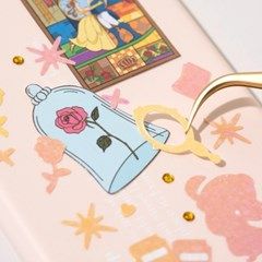 [디즈니] 프린세스 반짝이 리무버 씰스티커 (4장=1set)