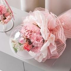 몽블링벌룬 카네이션 꽃다발 50cmP 조화 어버이날
