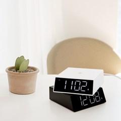 고속무선충전 LED 시계