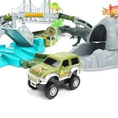 다이노파크 트랙 공룡 테마파크 레일 만들기