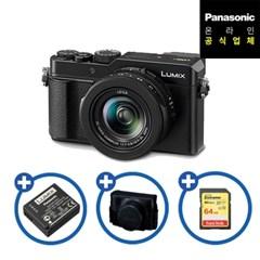 [파나소닉] 루믹스 컴팩트 카메라 DC-LX100M2/배터리+케이스+64GB