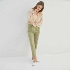 MAHOGANY LINEN PANTS (2COLORS)