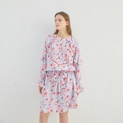 PANSY FLOWER FRILL DRESS