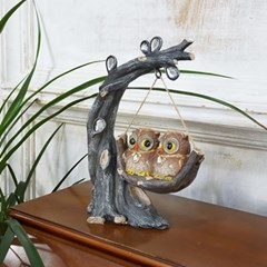 큐빅나무 그네 부엉이 (17001)
