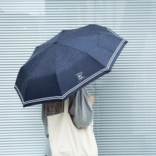 [디즈니] 클래식 위니더푸 3단 우산 양산 겸용_네이비