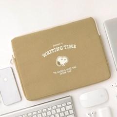 [Peanuts] TIME 노트북 파우치 15인치_스누피