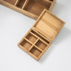 [모노뜨] 두루 대나무 정리박스